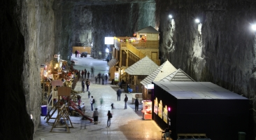 Salt mine in Praid